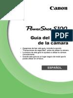 PowerShot S100 Camera User Guide ES v1.0