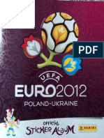 Eurocopa Polonia & Ucrania 2012 (Panini)