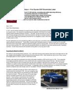 Tesla Motors Q1 15 Shareholder Letter