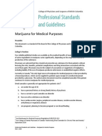 PSG Marijuana for Medical Purposes