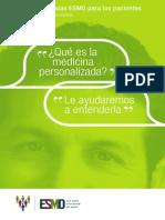 ESMO Guia deMedicina para pacientes