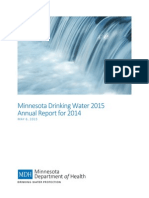 MDH Drinking Water Report 2014/Released May 2015