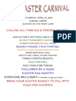 Easter Poster Carn. Help