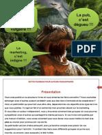 Le petit bottin Facebook pour les auteurs francophones - Gare aux dinosaures !