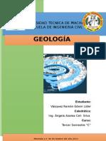 Deber de Geología