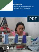Acceso a La Justicia El Salvador