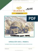 Manual Operacion Mantenimiento Seguridad Camion Minero 785c Caterpillar