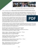 LADOT Press Release LBL, Jan 14, 2010