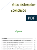 Cibernetica Sistemelor Economice