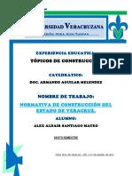 Normativa de Contruccion Del Estado de Veracruz Llave