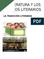 La Literatura y Los Generos Literarios