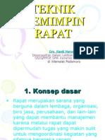 teknikmemimpinrapat-120302084039-phpapp02
