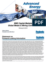 Peabody Energy - Bmo Presentation Submitted