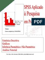 SPSS Aplicado u00E0 Pesquisa Em Psicologia I