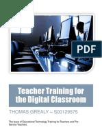digital classroom report