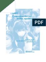 Manual para periodistas sobre la pandemia gripe
