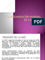 Clase 02 - La OMC