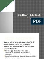 big bear, lil bear