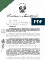 Plan Estratégico Sectorial Multianual (PESEM) 2015-2021 del Ministerio de Justicia y Derechos Humanos Perú