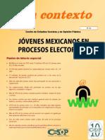 Contexto No.21 Jovenes Mexicanos Procesos Electorales