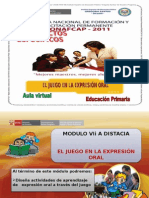 diapositivaseljuegoenlaexpresinoral