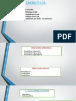 exposicion de beta lactamicos y cefalosporinas