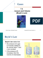 7.3 Pressure and Volume (Boyle's Law)