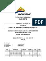 An-0820-EM-015_D Especificacines Generales de Estructuras y Tanques