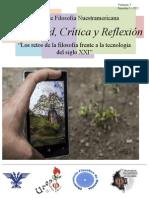 Vol 7 Revista Posibilidad Critica y Reflexión Los Retos de La Filosofia Frente a La Tecnología Del Siglo XXI