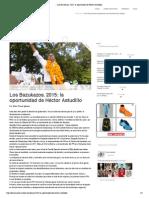 06-05-15 Los Bazukazos. 2015
