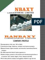 Ranbaxy Presentation