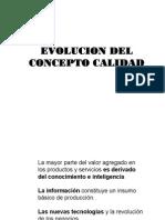 Evolucion Del Concepto Calidad