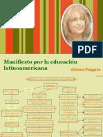 39 Manifiesto a la educ Lat.ppt