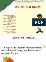 Fungsi Dan Siklus Informasi