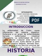 Enfermedad de Crohn - Grupo 6 - Gastro - Med Interna