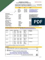 APS104- Course Syllabus