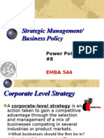 EMBA 544 Set8 Corporate Strategy GLOBAL
