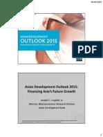 アジア経済見通し2015セミナー(2015年4月9日)配布資料(メイン)