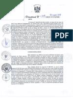 Bases Convocatoria CAS de contratacion de personal en las intituciones publicas del estado