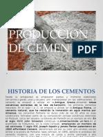 Produccion de Cementos