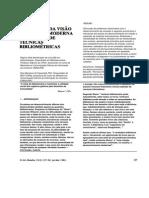 Selecao e Aquisicao- Da Visao Classica a Moderna Aplicacao de Tecnicas Bibliometricas
