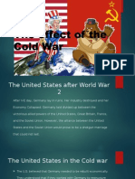 the effect of the cold war