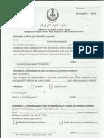 Borang Ujian HIV Negeri Perak