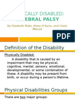 physical disabilities presentation