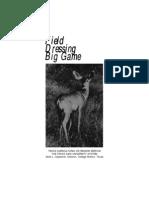 SURV Deer Field Dressing Pocket Sized Guide