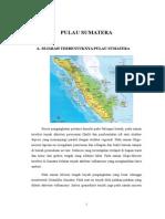Sejarah Geologi Pulau Sumatera