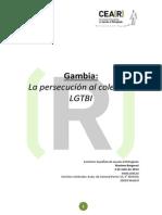 GAMBIA.2014.Persecución Al Colectivo LGTBI.