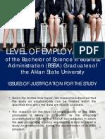 Edited_level of Employability Presentation