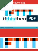 Pao_Saldivar_How to Use IFTTT