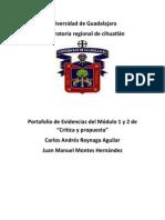 Portafolio de Evidencias..